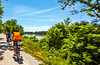 Cyclist(s) on Katy Trail, Rocheport to MKT turnoff for Columbia - C2-A-0300 - 72 ppi-3