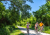 Cyclist(s) on Katy Trail, Rocheport to MKT turnoff for Columbia - C3-0260 - 72 ppi