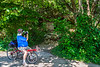 Cyclist(s) on Katy Trail, Rocheport to MKT turnoff for Columbia - C2-B-0036 - 72 ppi