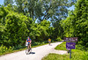 Cyclist(s) on Katy Trail, Rocheport to MKT turnoff for Columbia - C3-0229 - 72 ppi