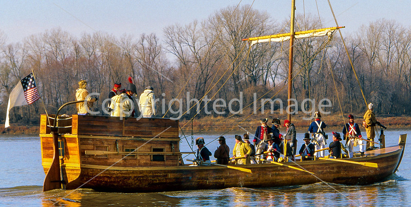 Lewis & Clark keelboat at the Mississippi-Missouri confluence - 72 ppi 1-2