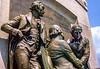 Louisiana Purchase Treaty signing statue at Missouri state Capital - 9 - 72 ppi