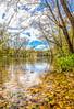 Kayaker on Upper Meramec River southeast of St  James, MO - C2-01377 - 72 ppi