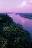 Mississippi River at dawn - Hannibal, Missouri - 5 - 72 ppi
