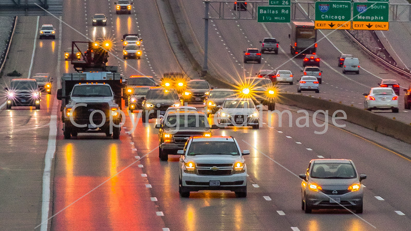 Interstate traffic, Mason Road overpass of I-64 - Sep 2020-3 - 72 ppi