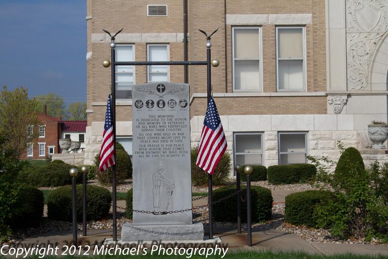 A memorial for all Veteran's.