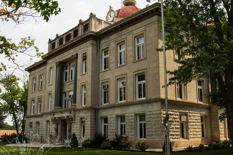 Monroe County Courthouse-Paris Missouri