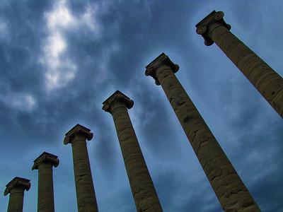 Pillars of Missouri State Universtiy at Columbia