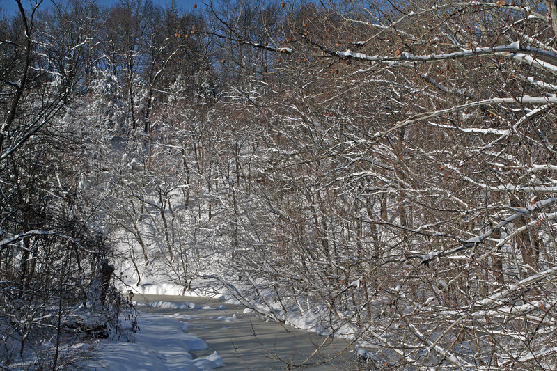 View of Grindstone Creek
