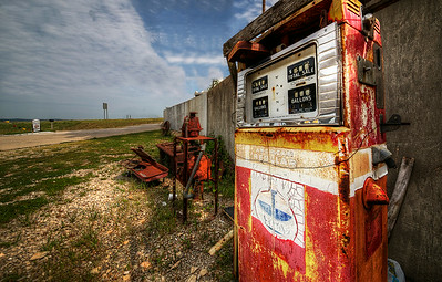 Gas Station along Route 66