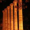 Columns Aflame