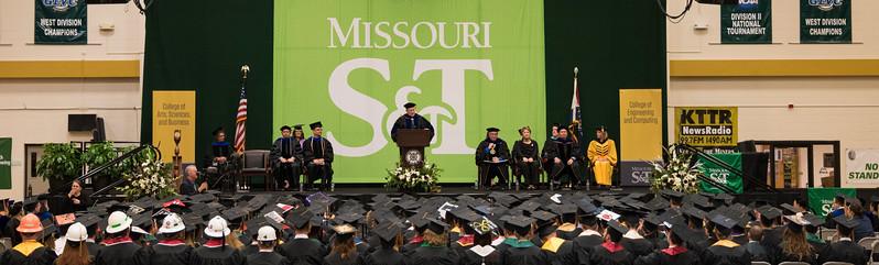Missouri S&T 2017 Graduation