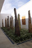 """The earthy towers unite nature and architecture  These site-specific monumental columns tie man-made space to natural forms.  They appear both geometric and staged, or rugged and organic."""