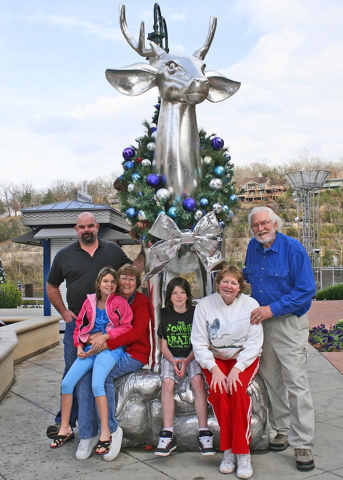 All together.  Craig, Astali, Grandma Suzi, Craig Sherry and Grandpa Mike