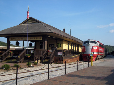 Branson Scenic Railroad at Branson Landings