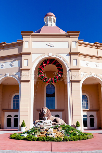 The exterior of the Sound and Light Show theater in Branson, Missouri, USA.