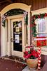 A christmas village decorted for the season in Branson, Missouri USA.