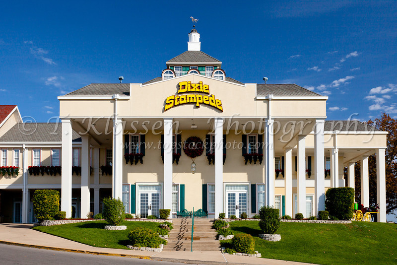 The Dixie Stampede theater in Branson, Missouri, USA.