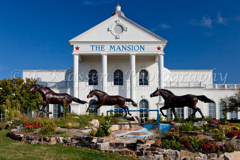 The Mansion theater in Branson, Missouri, USA.
