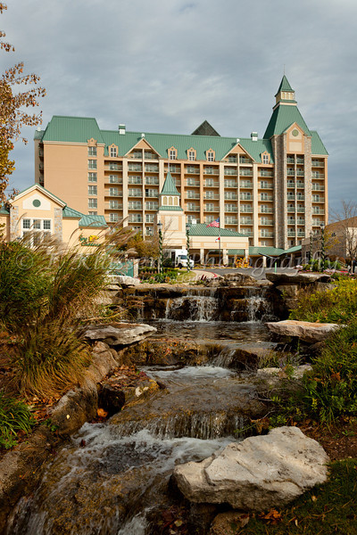 The Chateau on the Lake hotel and resort in Branson, Missouri, USA.