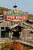 The Fish House restaurant at the Branson Landing shopping center in Branson, Missouri, USA.