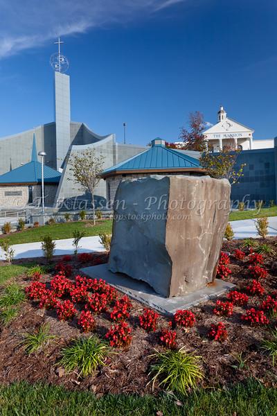 The shrine of the Holy Spirit exterior in Branson, Missouri, USA.