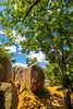 Cyclist at Missouri's Elephant Rocks State Park-0221 - 72 ppi