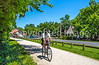 Cyclist(s) on Katy Trail at (or near) Rocheport trailhead - C3-0141 - 72 ppi-4