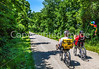 Cyclist(s) on Katy Trail, nearing MKT turnoff for Columbia - C2-A-0500 - 72 ppi