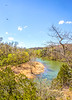 Canoe on Meramec River from high bluffs at Onondaga Cave State Park, MO - C1 - -3 - 72 ppi