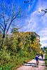 Biker(s) on Missouri's Katy Trail - 129 - 72 ppi