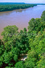 Day rider on Katy Trail near Weldon Spring, Missouri; Missouri River in view - 6 - 72 ppi
