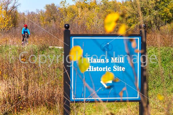 Biking in Missouri - 1838 Mormon War Sites