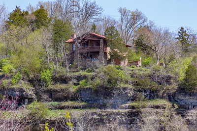 House on a Hill in Branson, MO