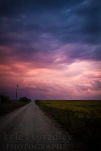 Dirt Road Evening