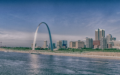 St. Louis from the East
