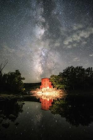 Milky Way Above Dillard Mill