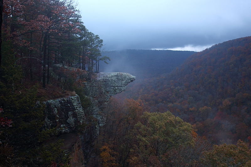 MNB-42: Hawksbill Crag (Arkansas) at Sunrise