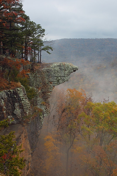 MNB-43: Hawksbill Crag (Arkansas) in Autumn