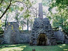 Iron furnace at Maramec Springs Park<br /> Constructed in 1826, the Maramec Iron Works was<br /> the first successful Ironworks west of the Mississippi.