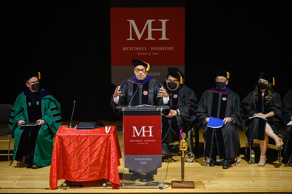 President and Dean Anthony Niedwieckis Installation