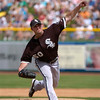 John Danks pitches a strong five innings for the Chicago White Sox vs the San Francisco Giants