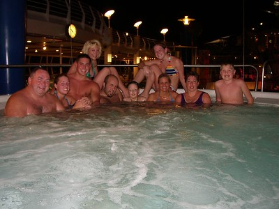 """Many"" joining Mitch in the hot tub"