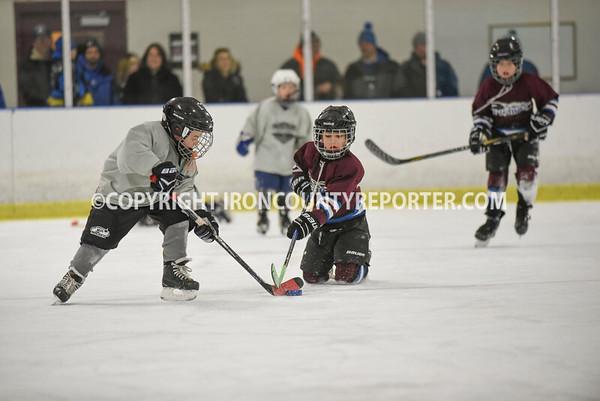 Mites Hockey vs Ontonogon