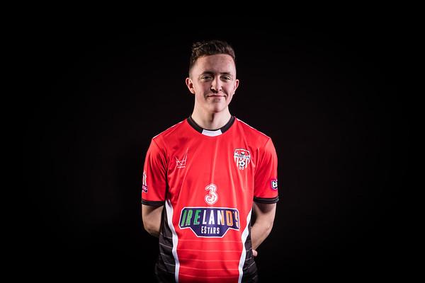 Derry City Player 5