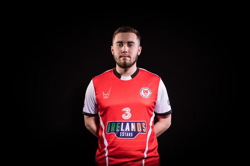 St Pats Dublin Player 3