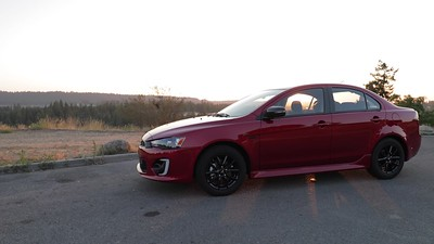 2017 Mitsubishi Lancer 2.0 LE 4-Door Sedan Parked Reel