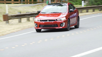 2017 Mitsubishi Lancer 2.0 LE 4-Door Sedan Driving Reel