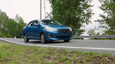 2017 Mitsubishi Mirage G4 SE Driving Reel