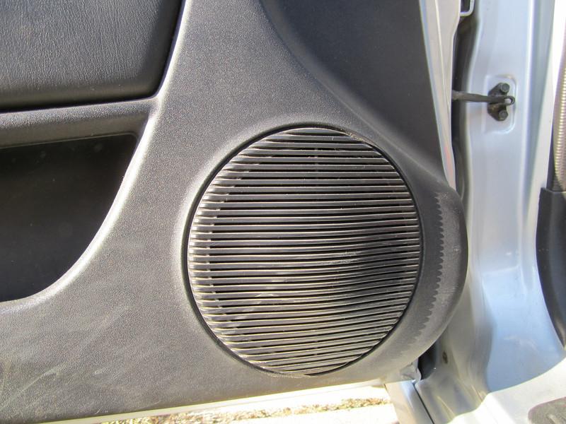 Speaker grill before speaker installation